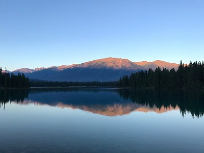 Thursday Sunrise at Jasper Park Lodge (Aug 3)