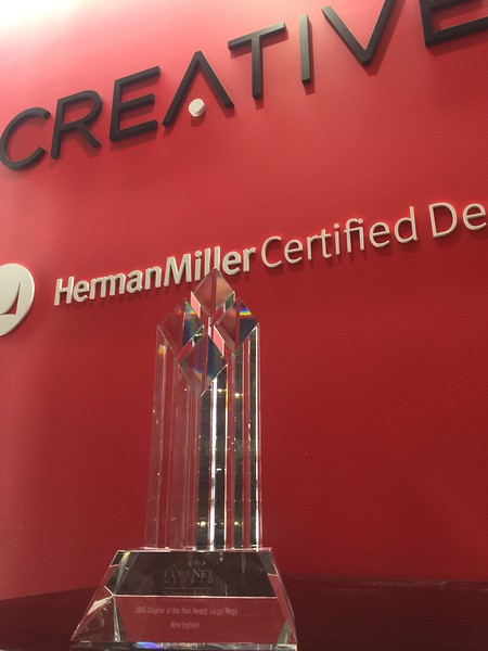 Traveling Chapter of the Year Award at Creative Office Pavilion and Herman Miller - January 2017