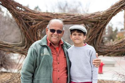 Grandpa and T