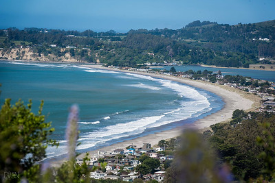 Stinson Beach on a good swell day