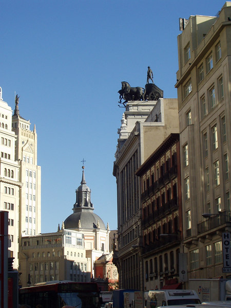 nice architecture in Madrid