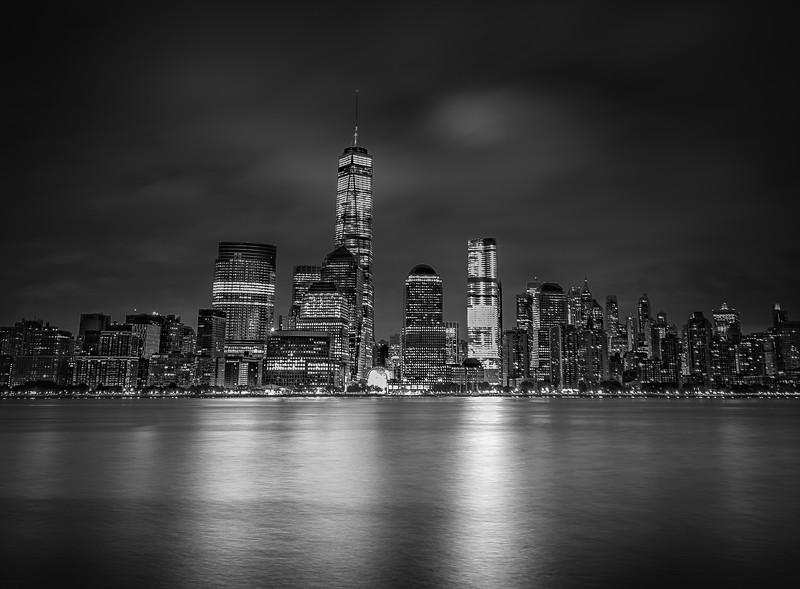 NYC Skyline B&W