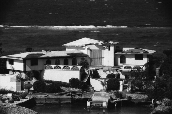 Nassau Houses in Black and White