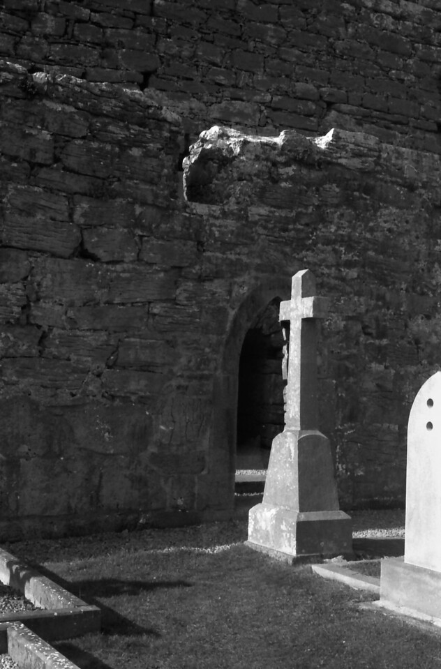 13 7-18-06 church graveyard