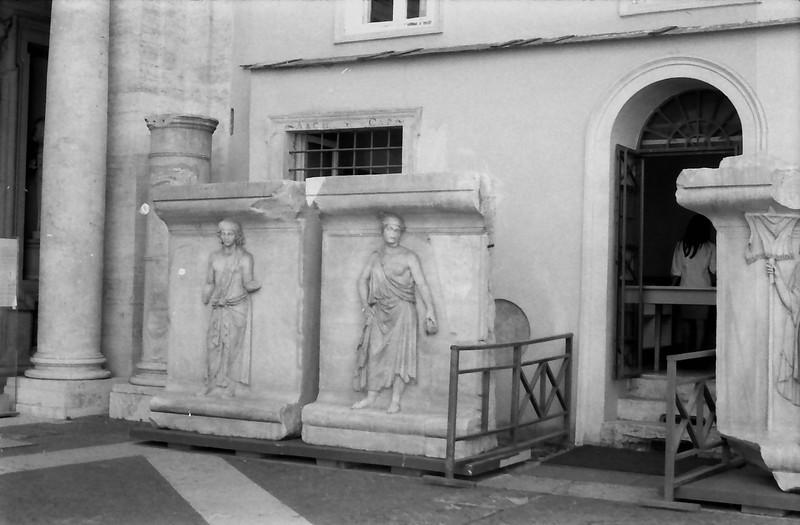 8 Rome Campidoglio relief carving