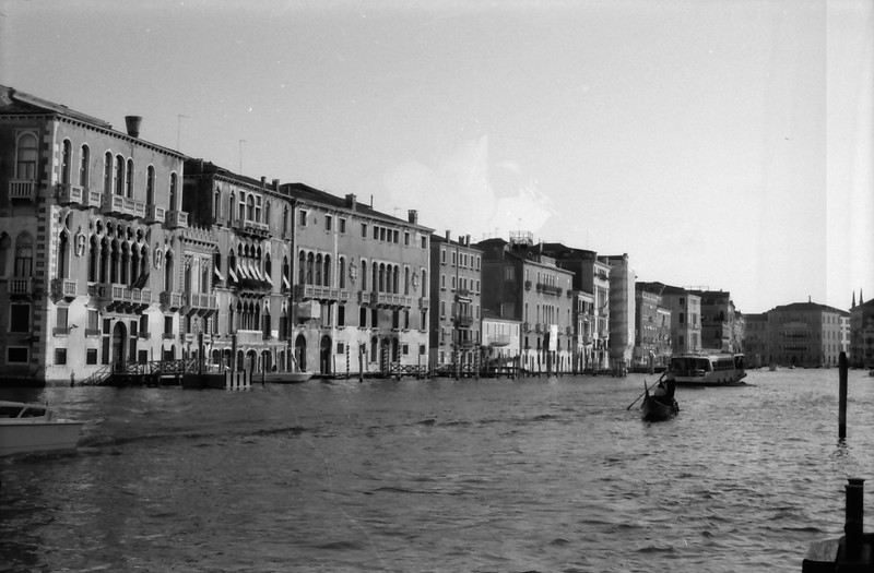 33 Venice Grand Canal gondola