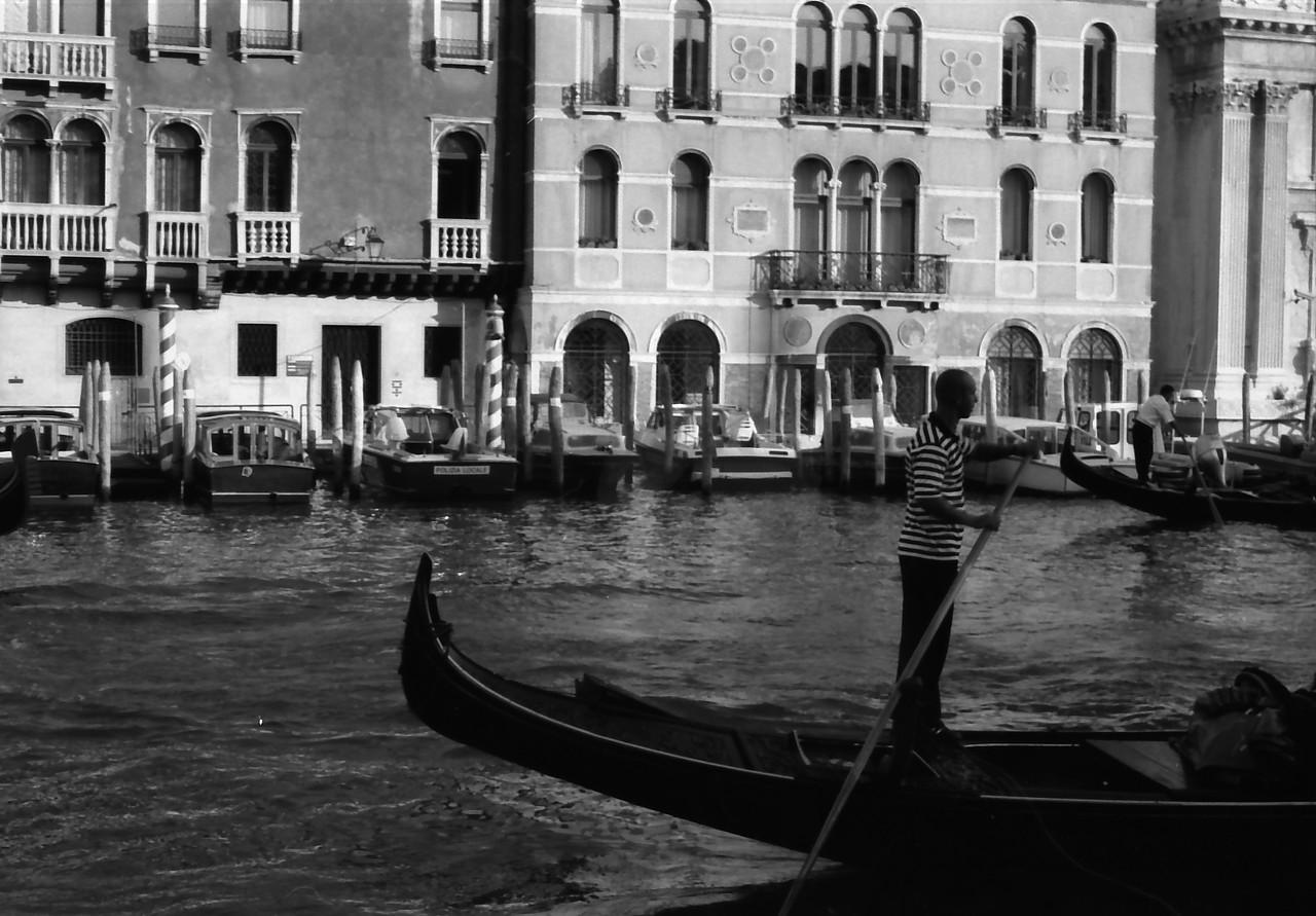 34 Venice Grand Canal gondola