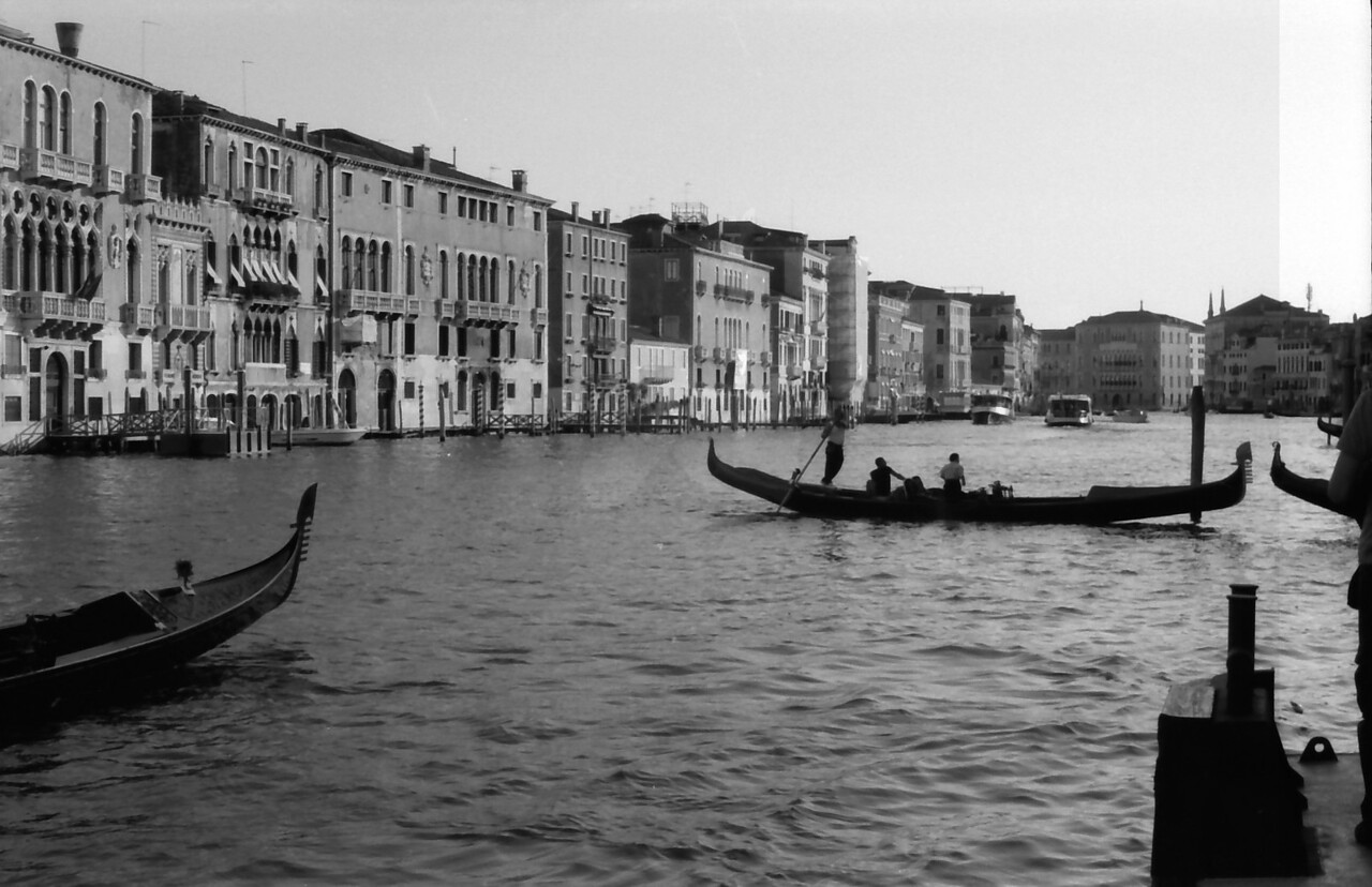 36 Venice gondola Grand Canal