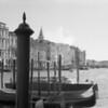 3 Venice gondolas Grand Canal