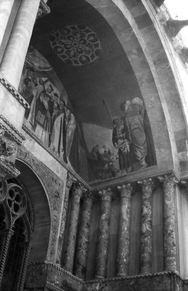 35 Venice Cathedral tympanum