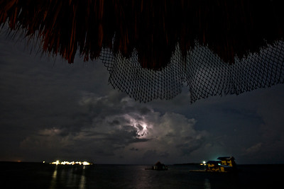 Storm on the Caribbean