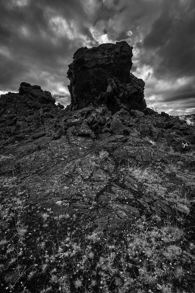Lava ruins