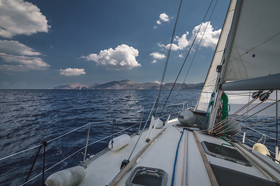 Voyage to Hydra island