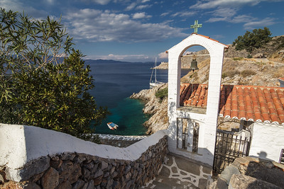 Church at Hydra island