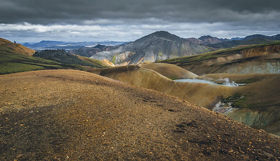 On the Laugavegur Trail