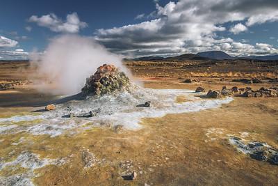 Steam pile