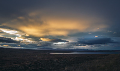 Magic sky near Mývatn