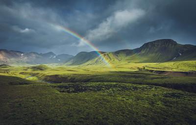 On the Laugavegur trail - Near Álftavatn