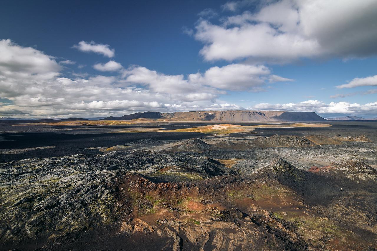 Area around Krafla volcano