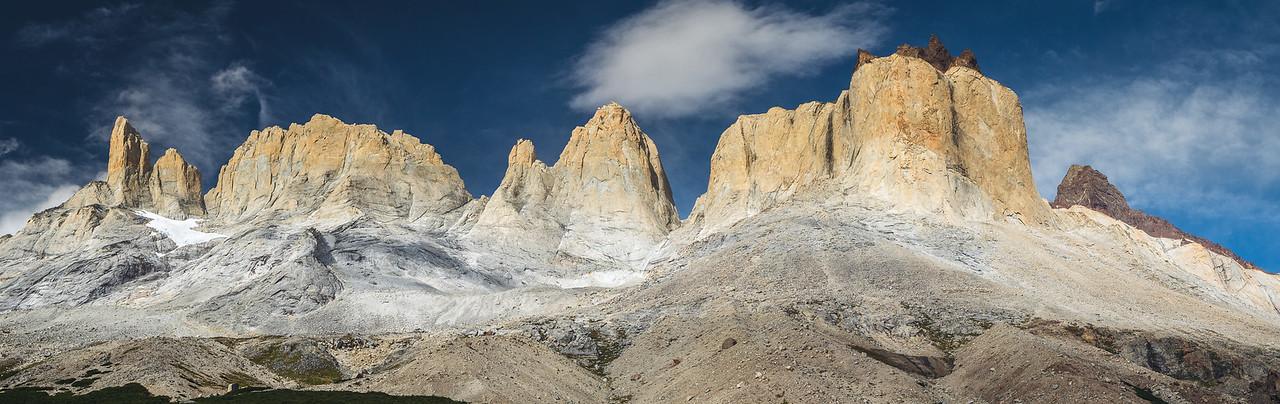 Torres del Paine from Britanico