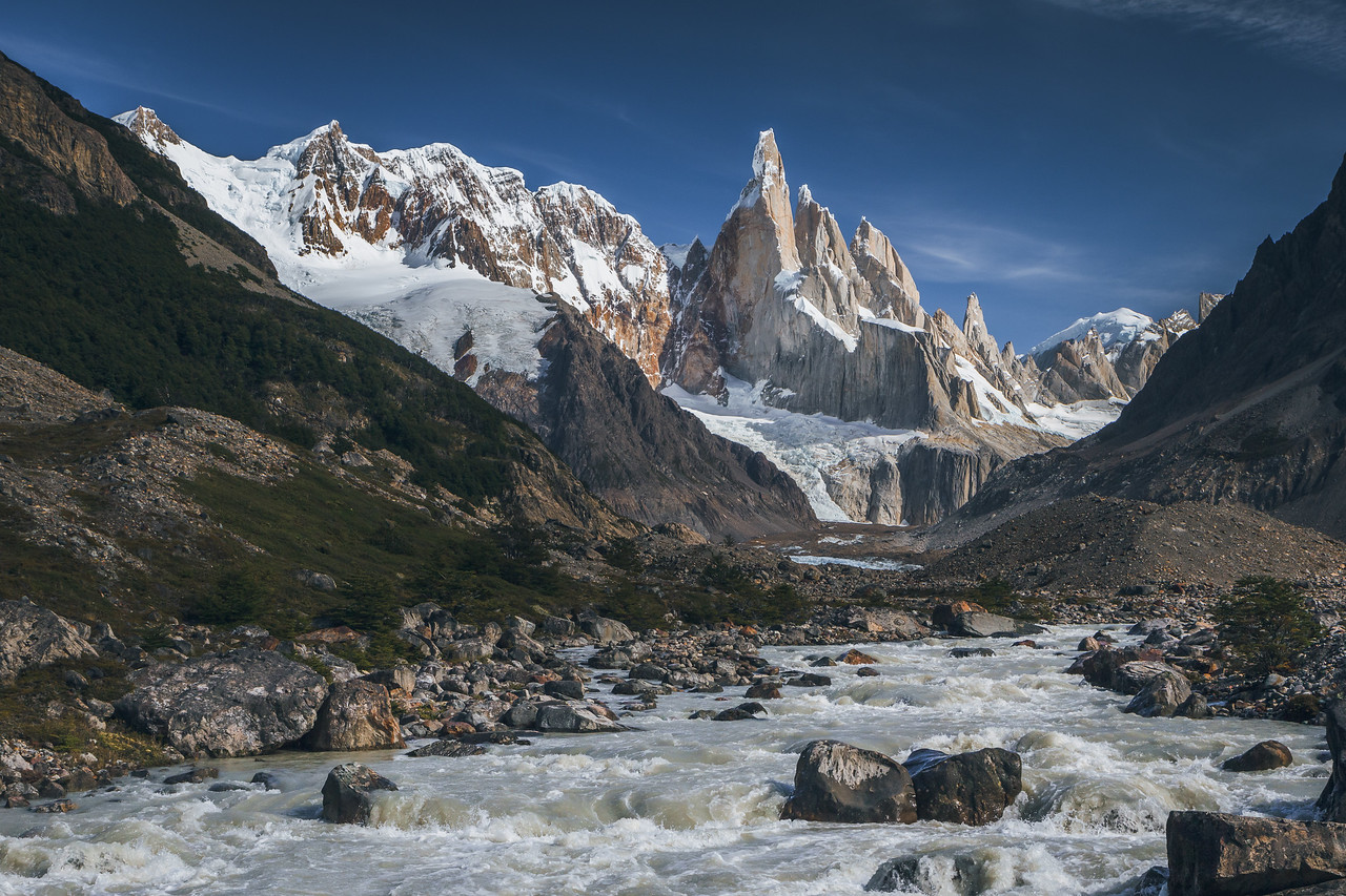Cerro Torre and Rio Fitz Roy