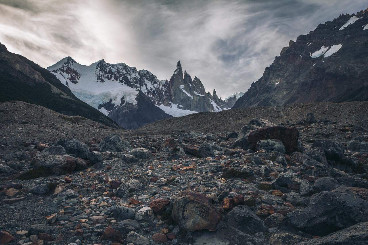 Cerro Torre moraine