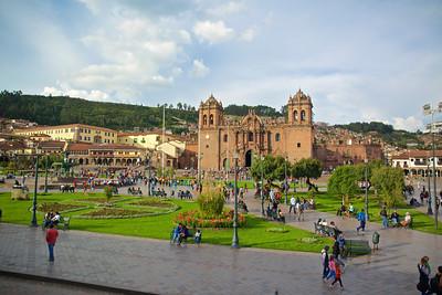 The Cathedra, Plaza de Armas, Cusco, Peru