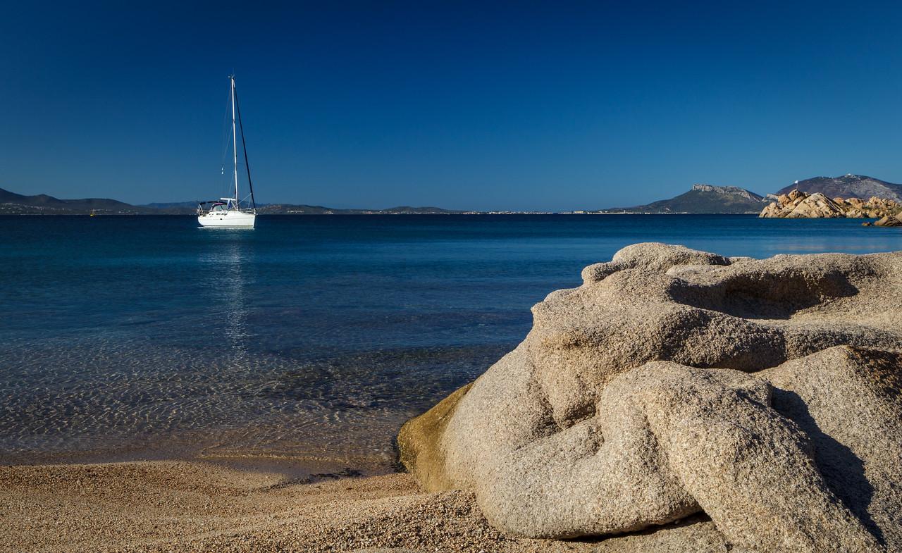 Deserted beaches on Capo Ceraso