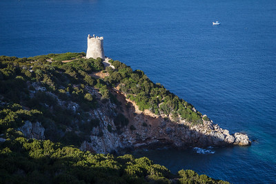 Watching tower on the Capo Caccia