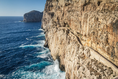 Trail to the Grotta di Nettune on Capo Caccia