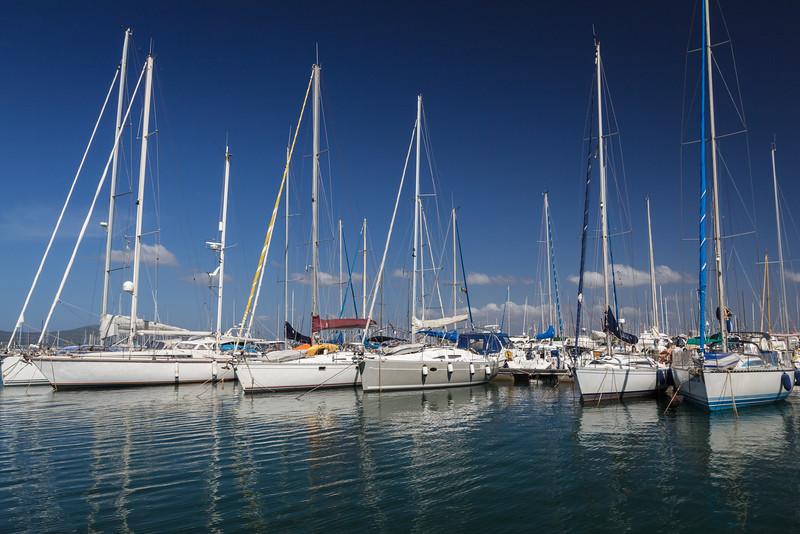 Harbor in Alghero