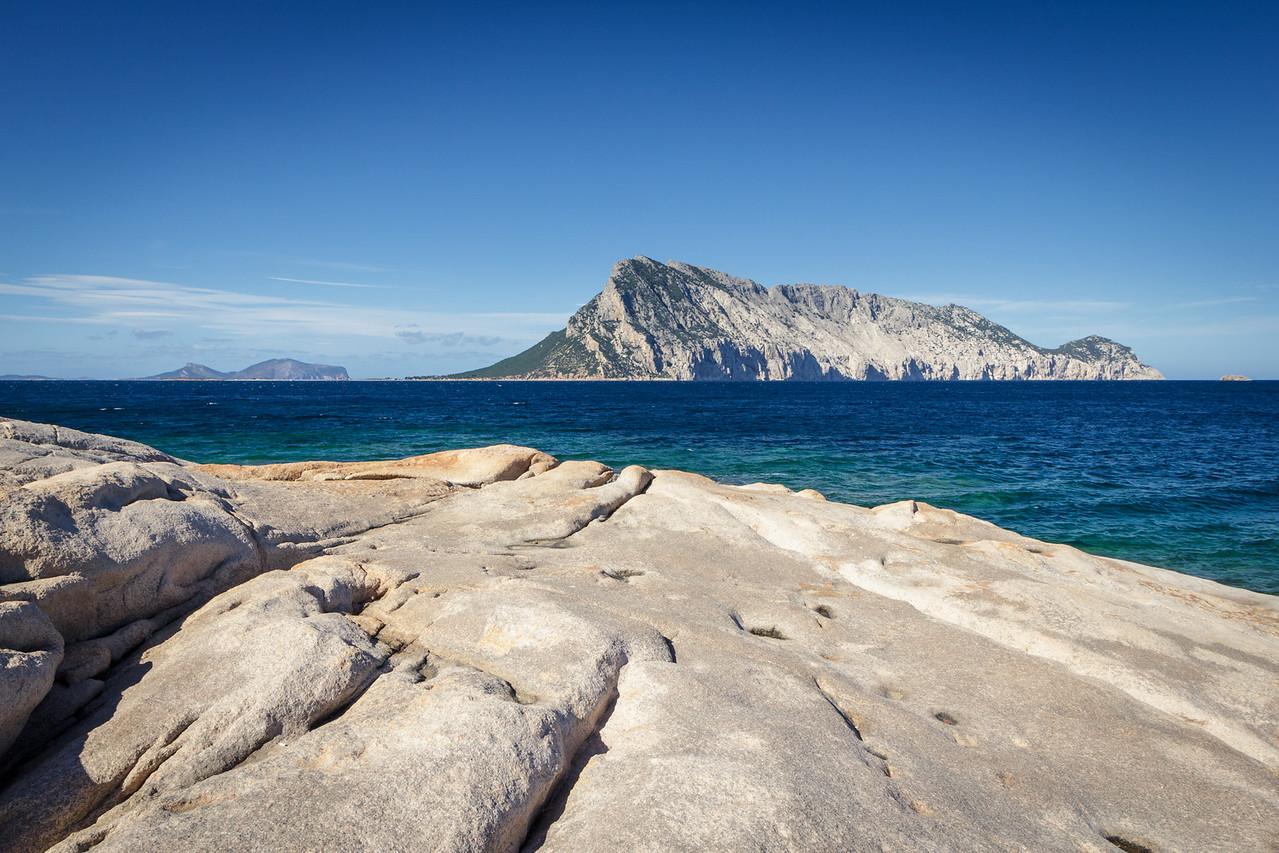 Tavolara from Punta Molara coast