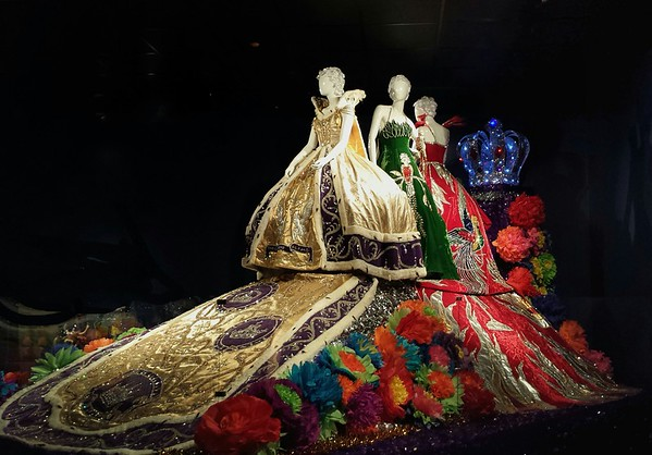 Gowns from Fiesta Alamo