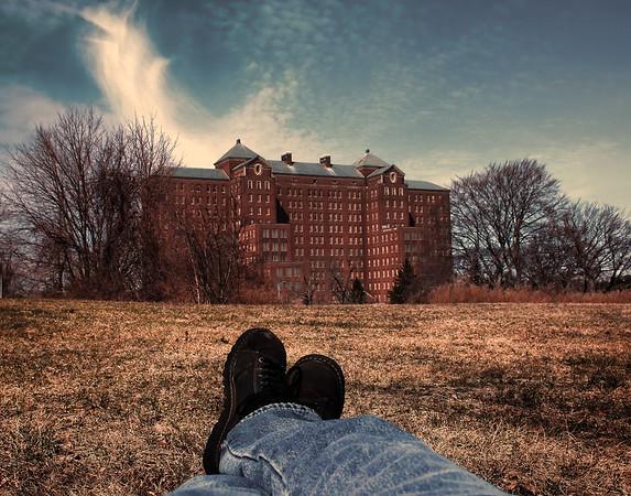 Kings Parks Psychiatric Hospital Building 93 - Abandoned