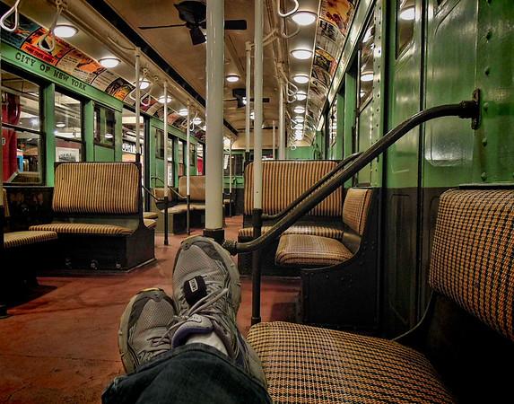 NYC Subway Feet