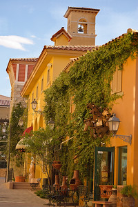 The Village at Lake Las Vegas - replicates the old world charm of a Mediterranean Village with its beautiful architecture.