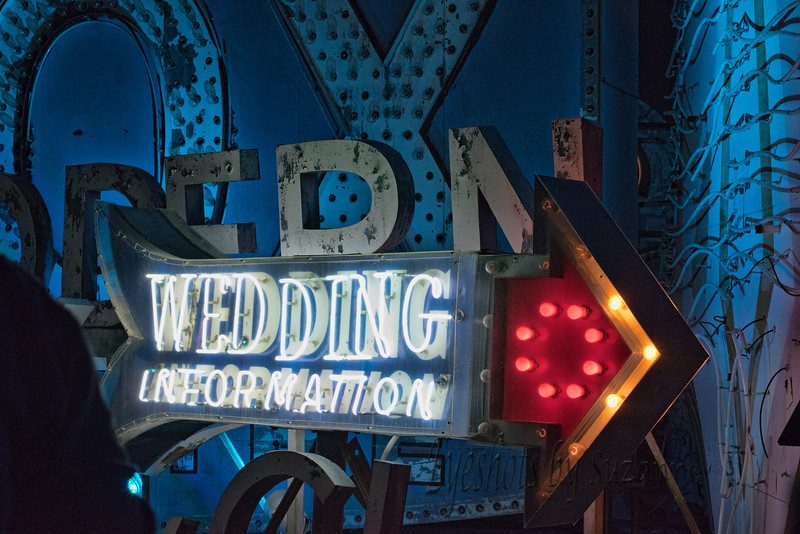 Wedding Information <br /> <br /> rescued neon from the Neon Museum