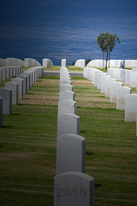 Fort Rosecrans National Cemetery, Point Loma, San Diego, CA   In Honor of all who have kept us free!