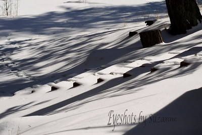 Stairs and shadows - Eldorado Canyon State Park, Boulder, Co.