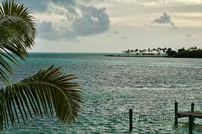 View from the pier at Lazydays Oceanfront Restaurant, Islamorada, Florida