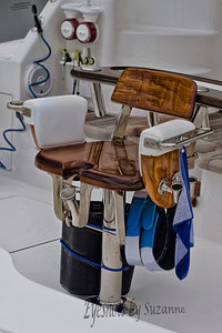 Teak Marlin Fighting Chair Deep Sea Fishing, like none other in the Florida Keys