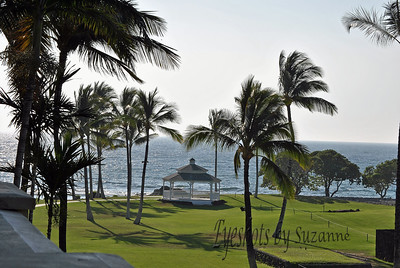 Beautiful view from our room, Fairmont Orchid, Big Island, Hawai'i