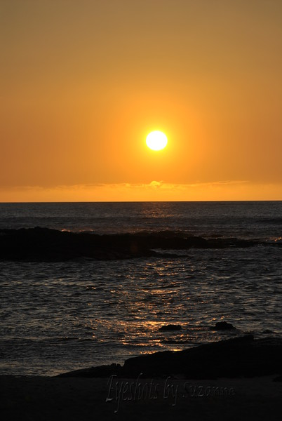 I love the fiery sunsets on the Kohala Coast of the Big Island.  No mountains to obstruct the sunsets.
