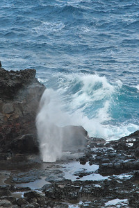 Nakalele Blow Hole - first stages