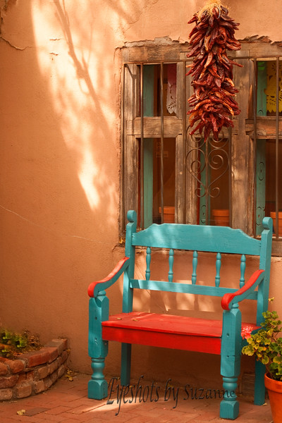 The colors of Old Town Albuquerque are wonderful!