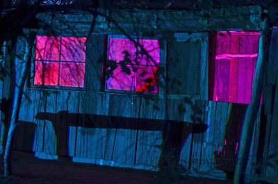 The Australian outpost, Painting with Light