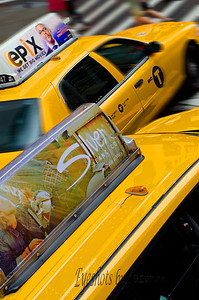 I love the Yellow taxis in NYC!  They are everywhere!
