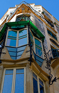 Mallorca's Modernist, Art Nouveau buildings constructed around the first decade of the 20th Century. Can Forteza-Rey is reminiscent of Gaudi's Casa Batlló and Parque Güell in Barcelona.