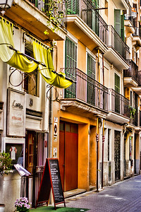 The colorful streets of Palma