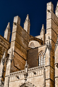The Cathedral of Santa Maria of Palma, commonly referred to as La Seu, is a stunning Gothic Roman Catholic cathedral.